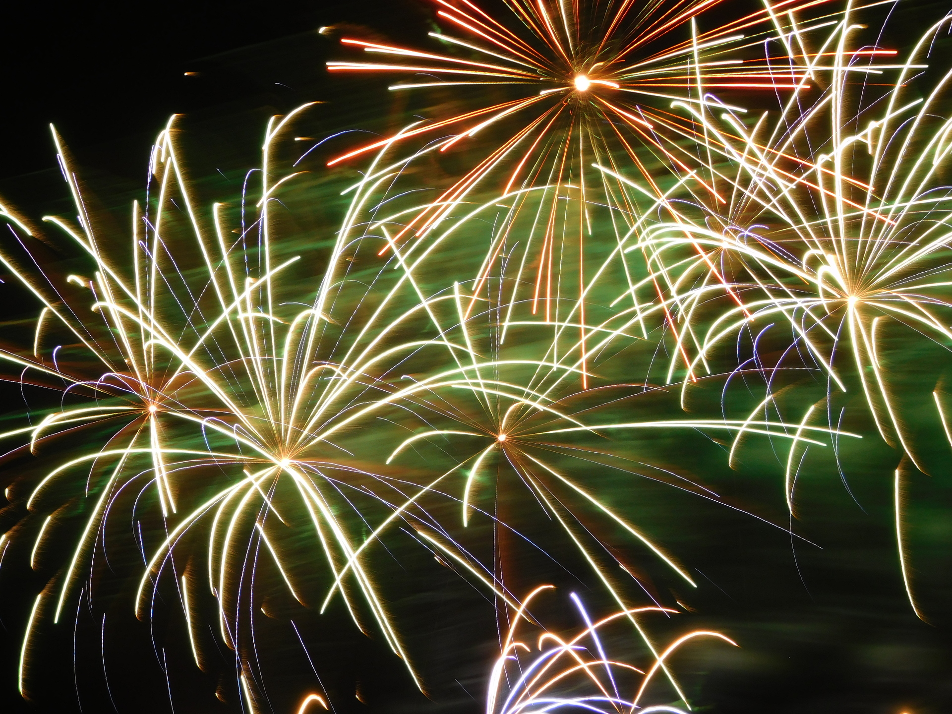 Fireworks | rick.cognyl.fournier, abstract, bright, celebration