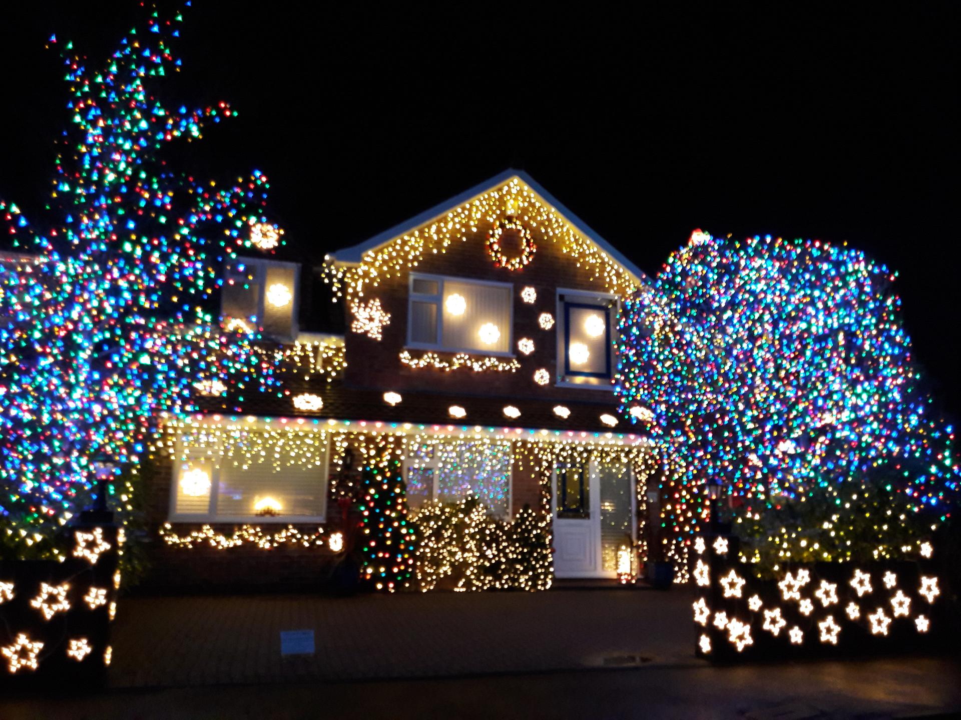 Festive House | dorismay, Christmas, illuminated, light