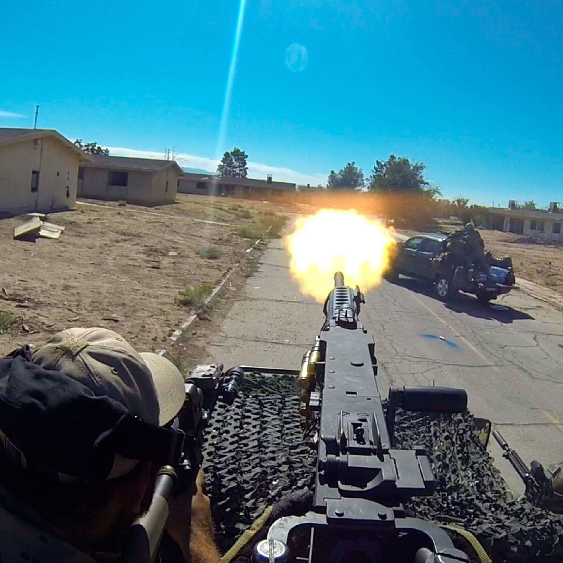 shooting m2 50cal | brian.holt, building, conflict, daytime