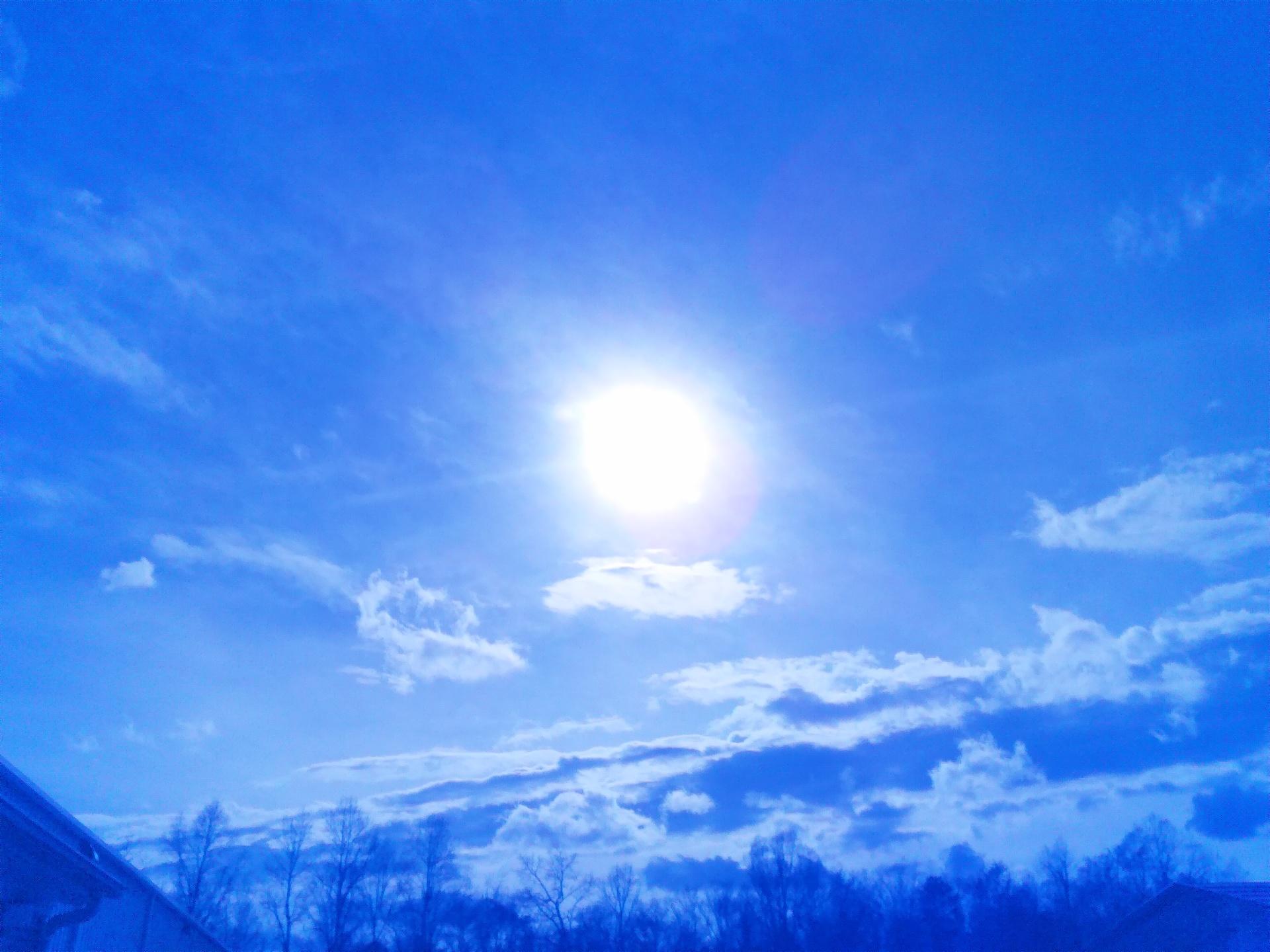 Hanging sun | codenamesailorearth, air, background, bright