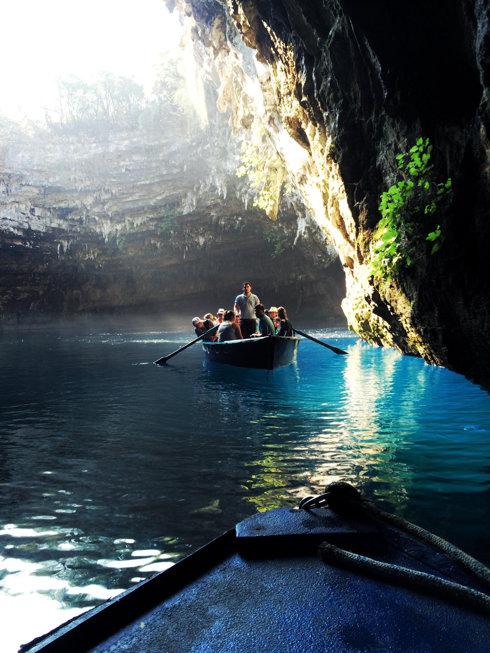 Magical Cave   watercraft, water, travel, transportation