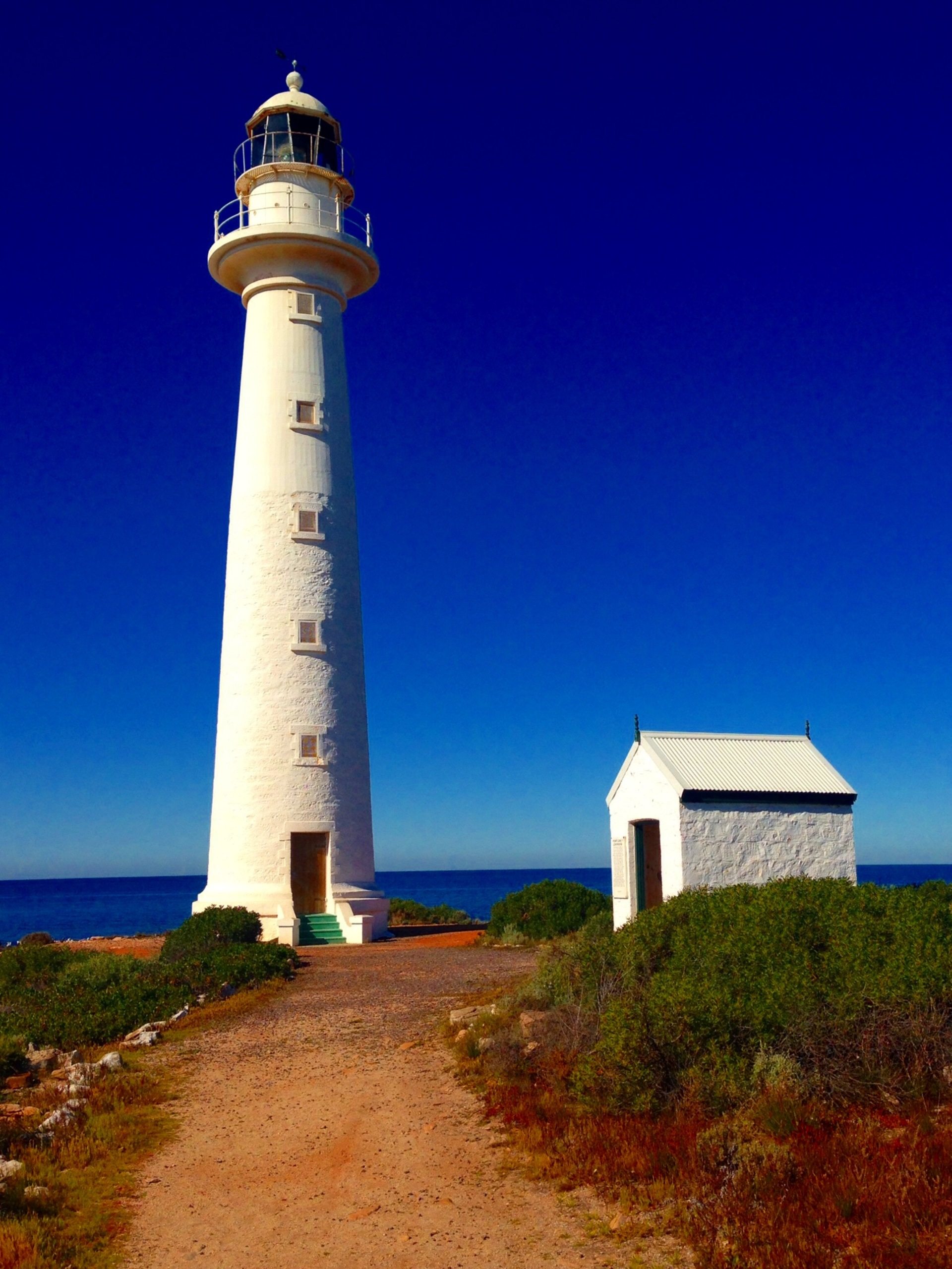 The Point Lowly Lighthouse, Whyalla, South Australia. The Point Lowly Lighthouse on North End of Spencer Gulf