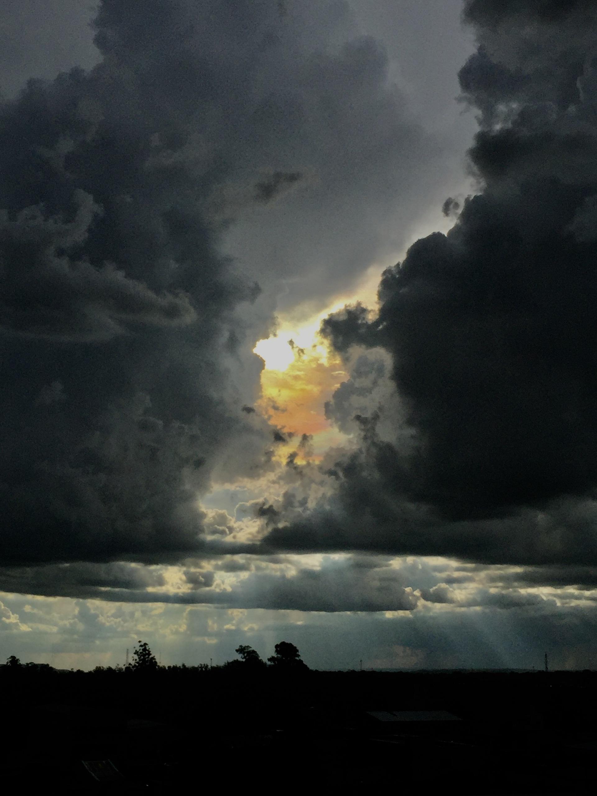 Sunset  | sergioseikoyonamine, cloud, daylight, dusk