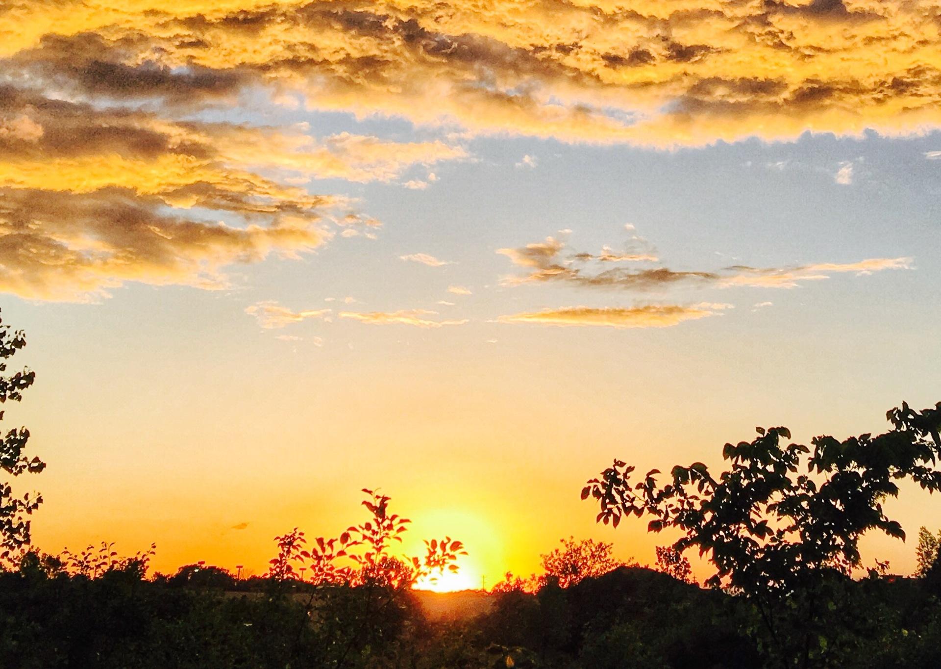 Sunset  | yili.cao, evening, landscape, nature