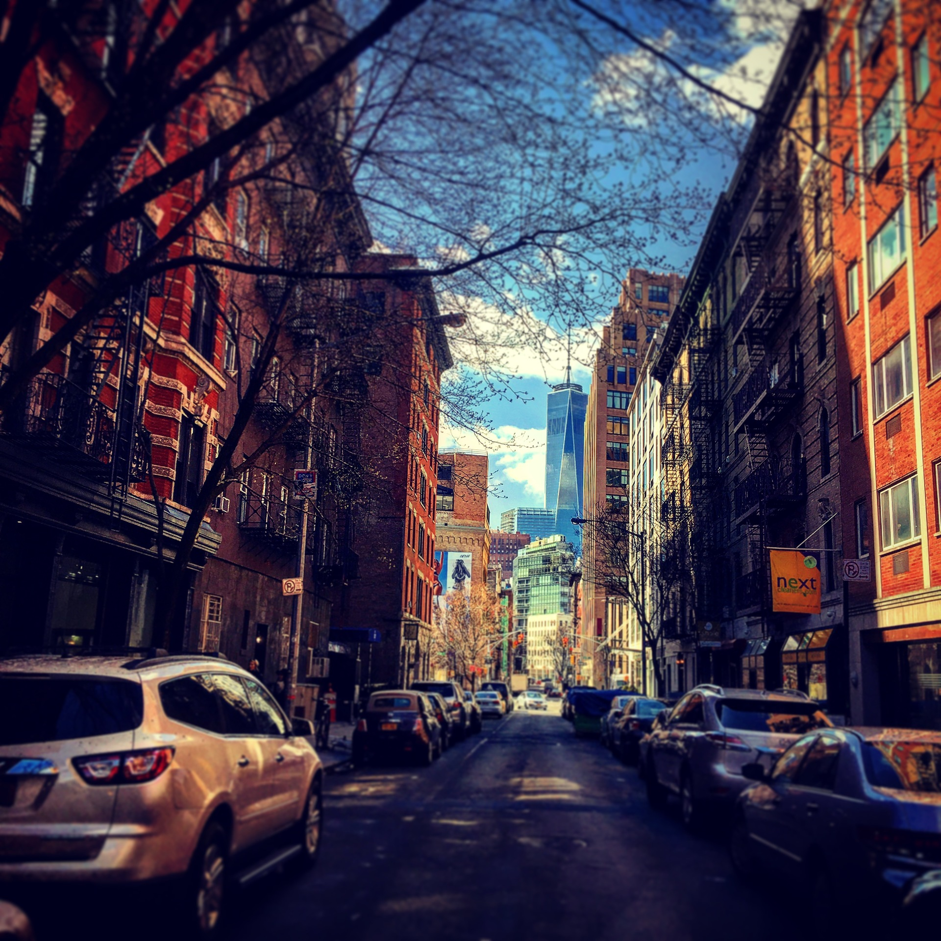 Street, Road, City, Urban, Light