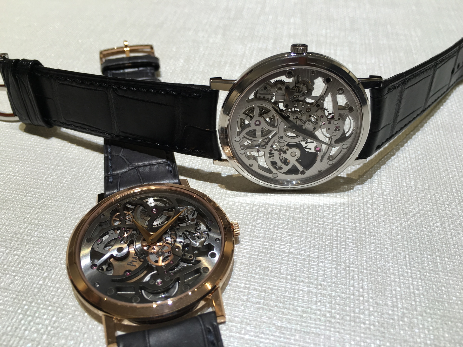 Two wristwatches on table | alonbj, precision, technology, time