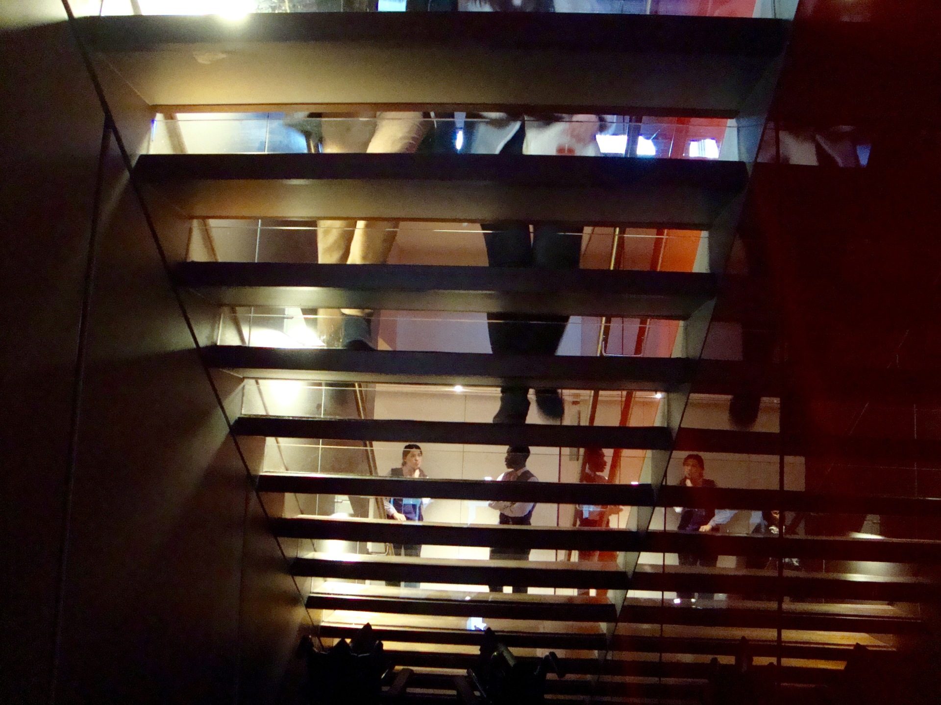 Kaleidoscope Staircase | gailstu, architecture, building, contemporary