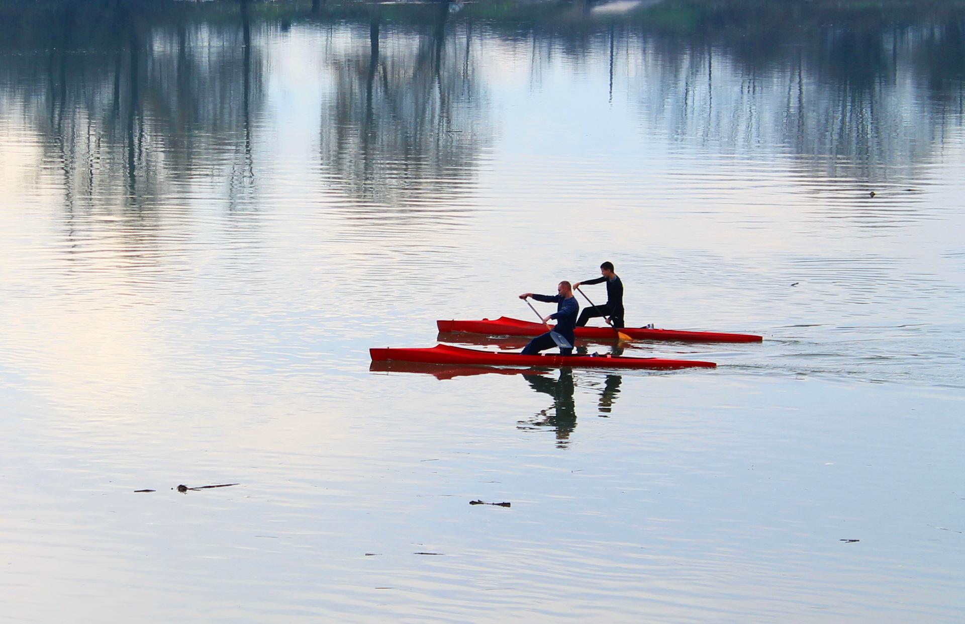 Recreation | tvrtko-mijakovac, water, lake, canoe
