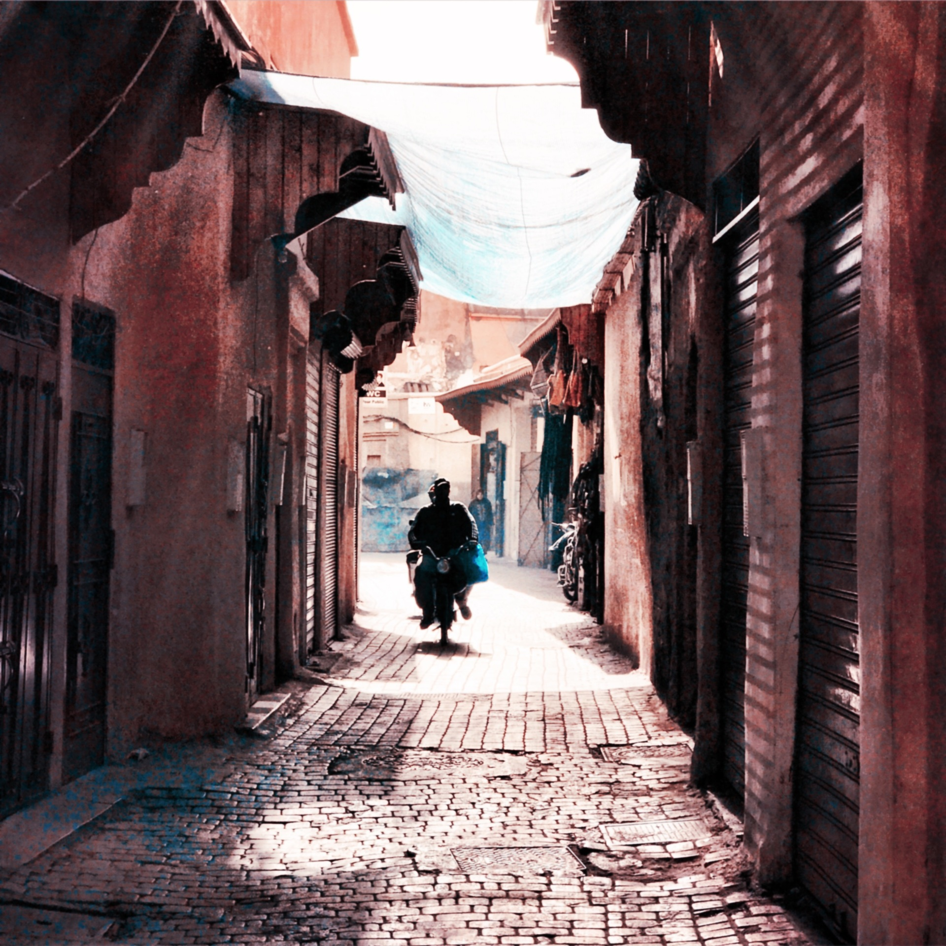Marrakech Street scene Morocco