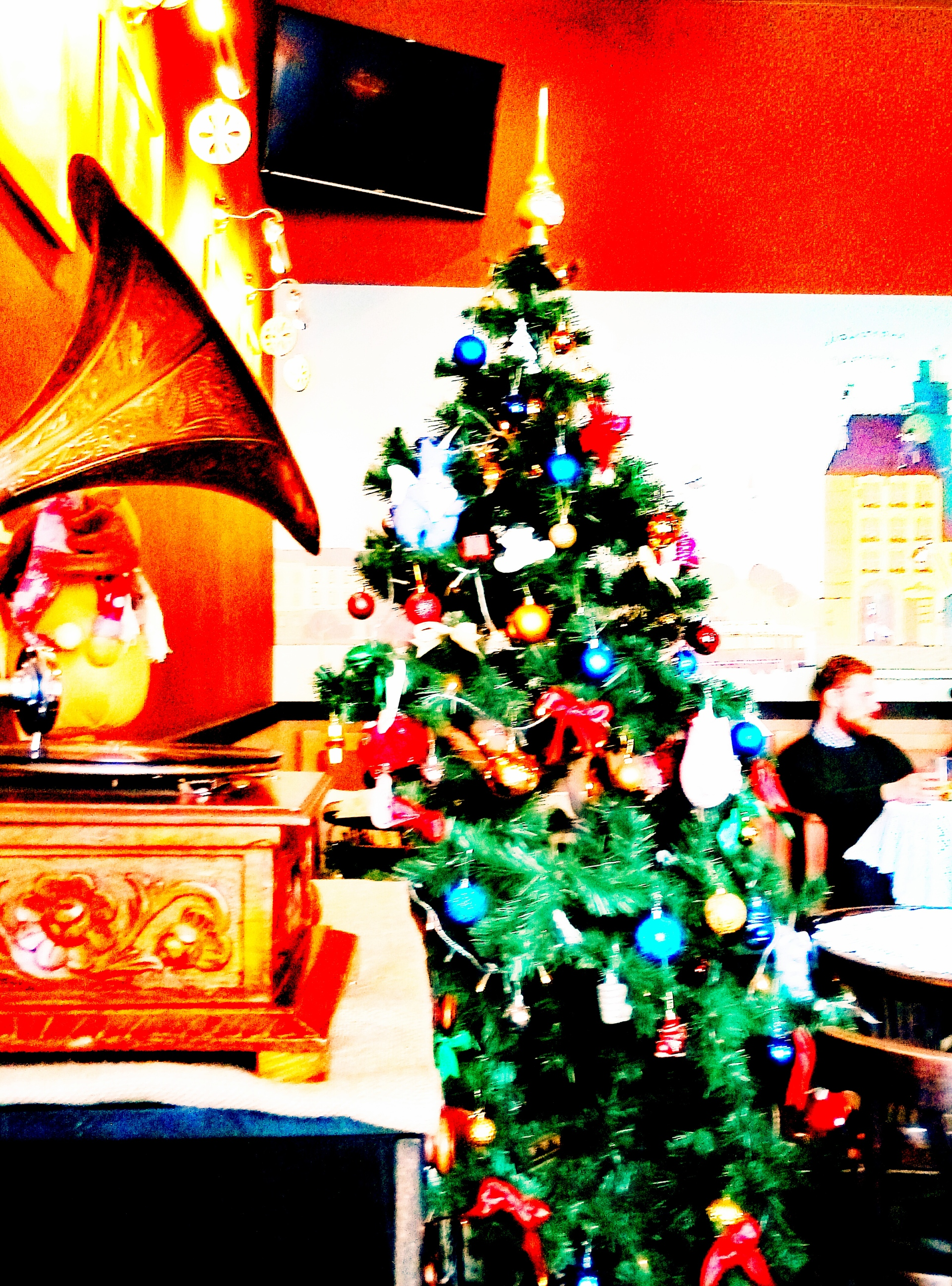 Ель   adme, box, christmas tree, gift