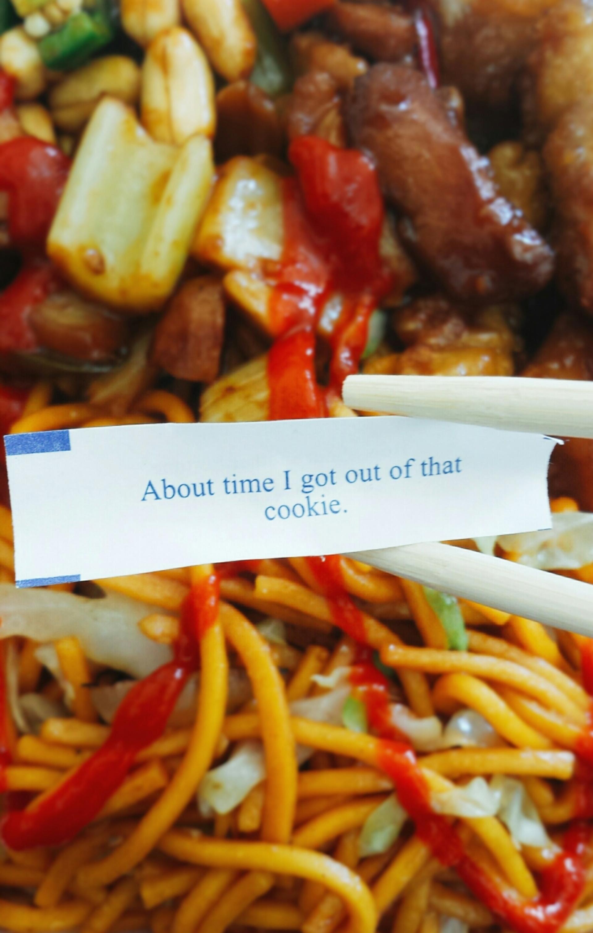 fortune cookie | brian.holt, chili, closeup, delicious