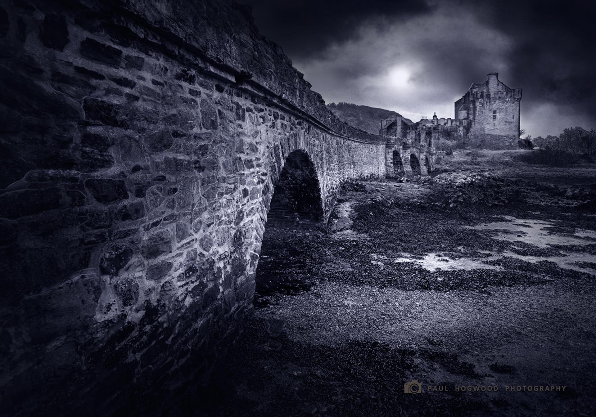 Eilean Donan Castle. On Loch Duich, Scotland