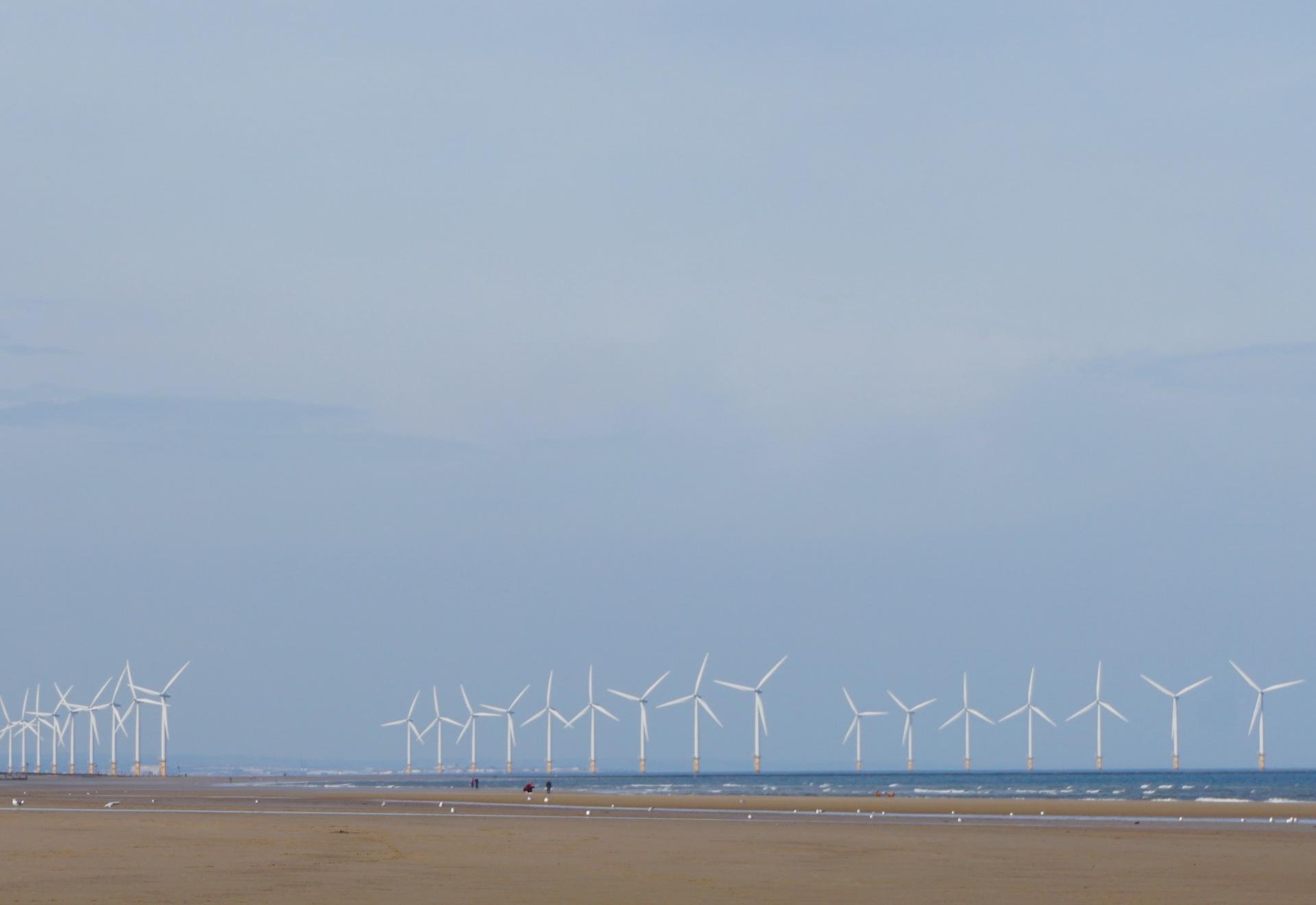 Wind Farm | blue sky, fair weather, turbine, sun
