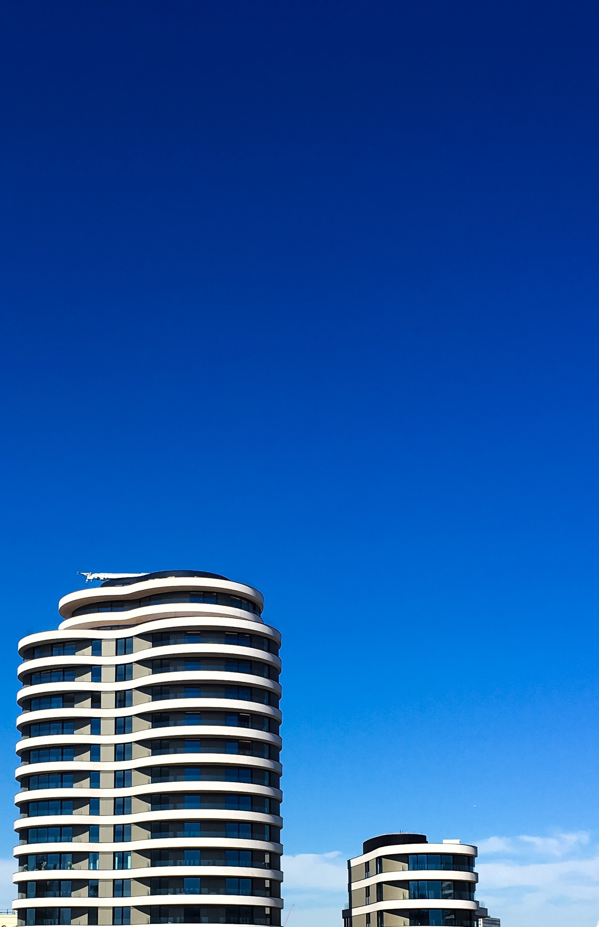 Blue sky  | greendub, architecture, blue sky, bright