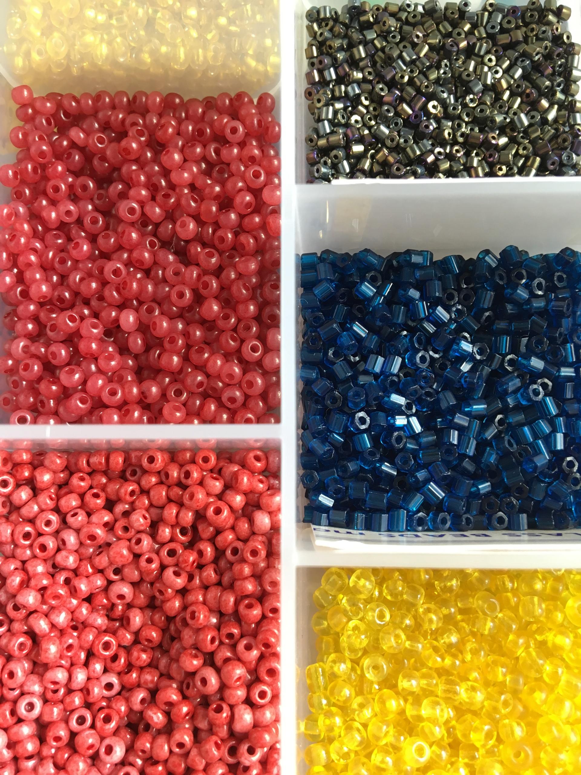 Seed beads | gato.gordi, abundance, collection, color