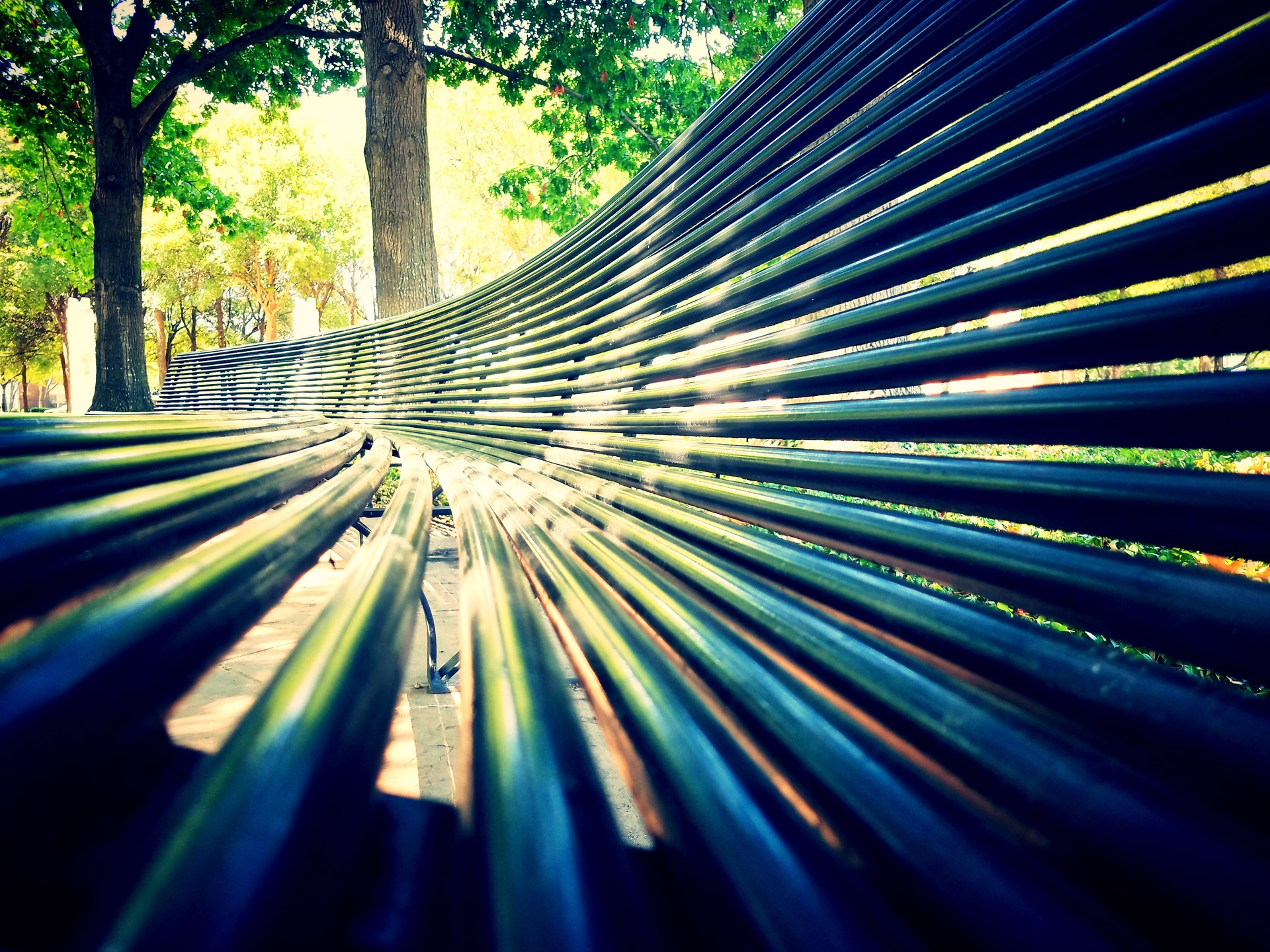 Park Bench Perspective | ginalucia82, abstract, design, desktop