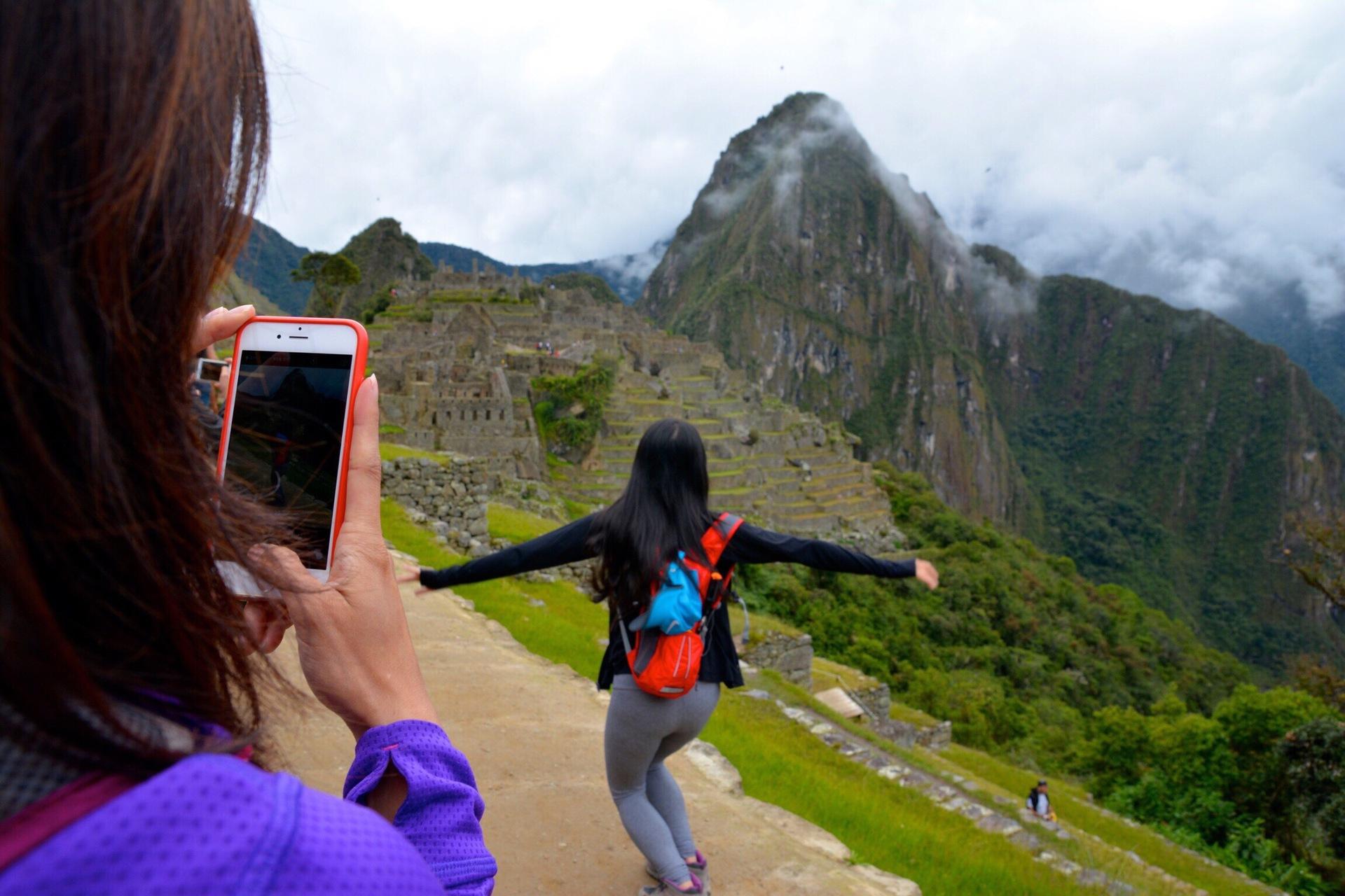 Photography at Machu Picchu   mbocast, adult, daytime, hiker