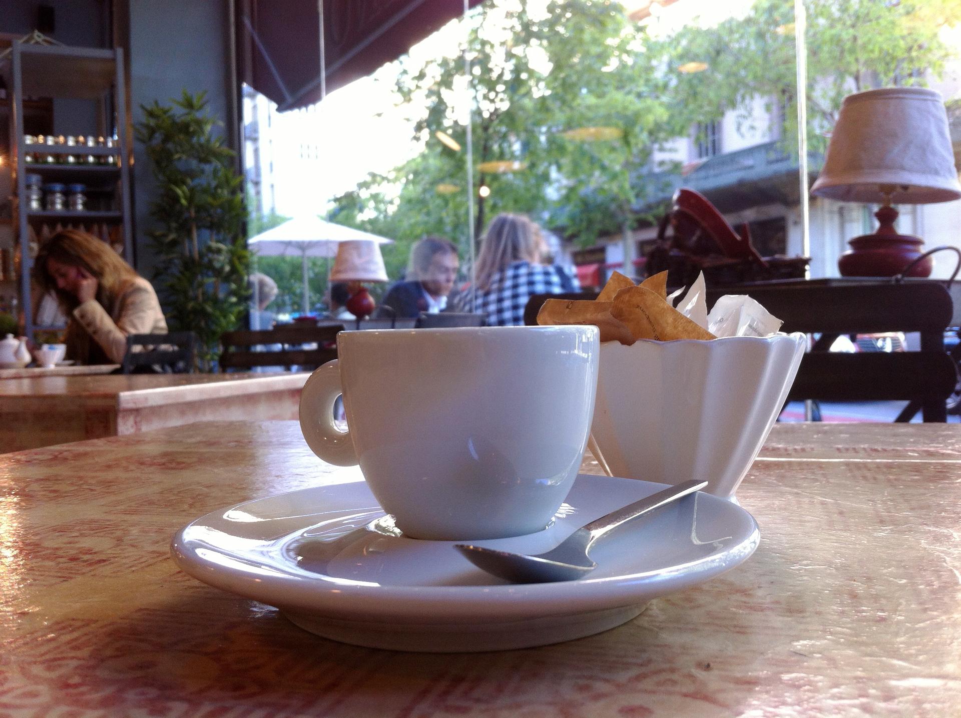 Coffee break | gato.gordi, beverage, breakfast, cafe