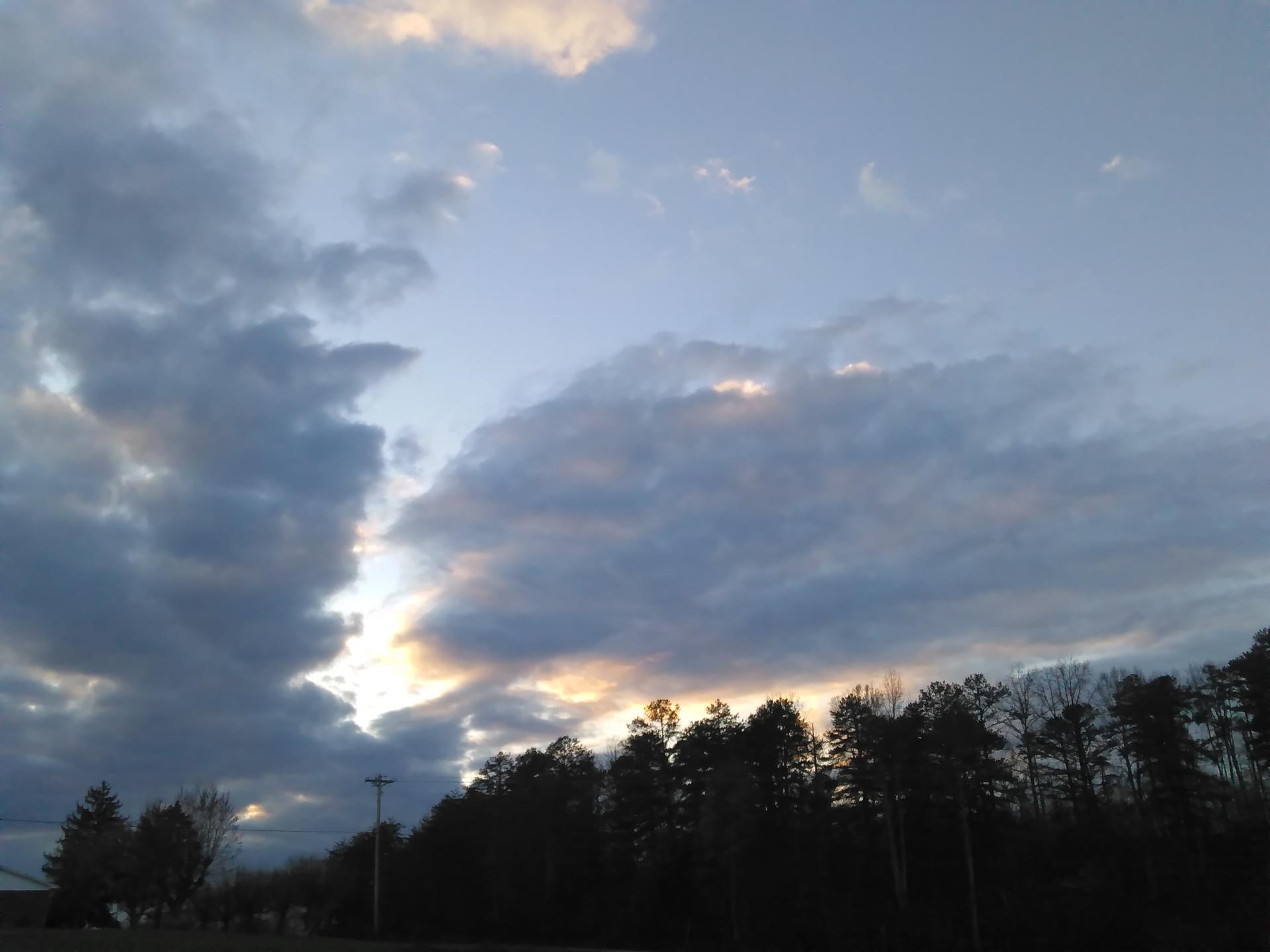 The evening break   codenamesailorearth, cloud, landscape, light