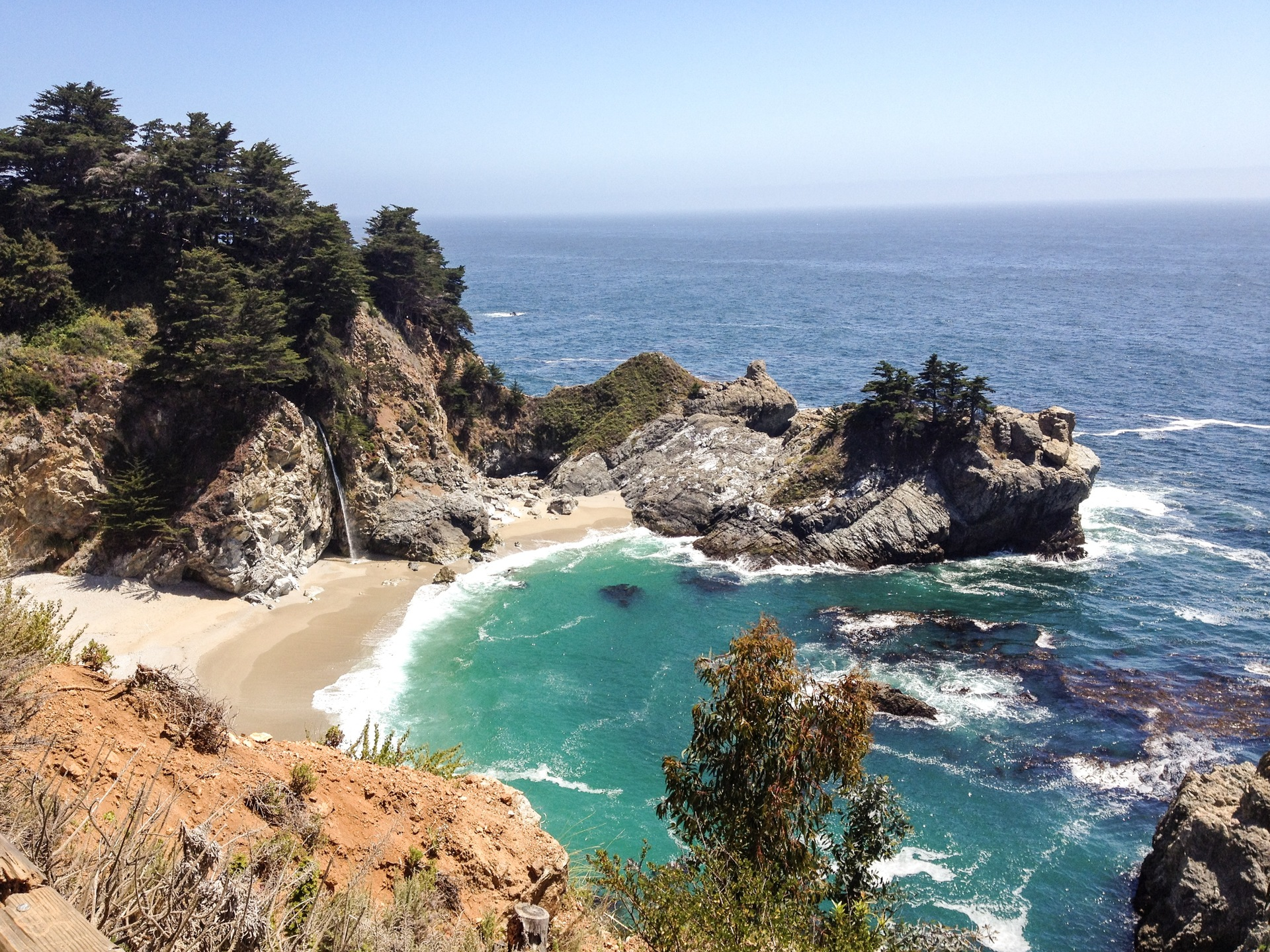 Scenic view of nature   sea, seascape, ocean, beach