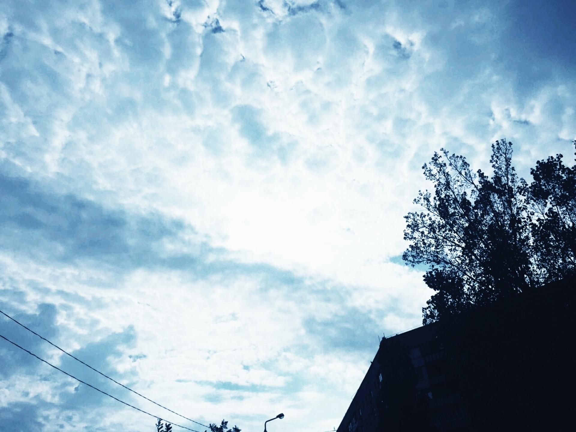 Небо   adme, blue sky, bright, cloud