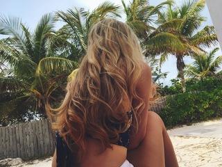 Curly Beach Hair example photo