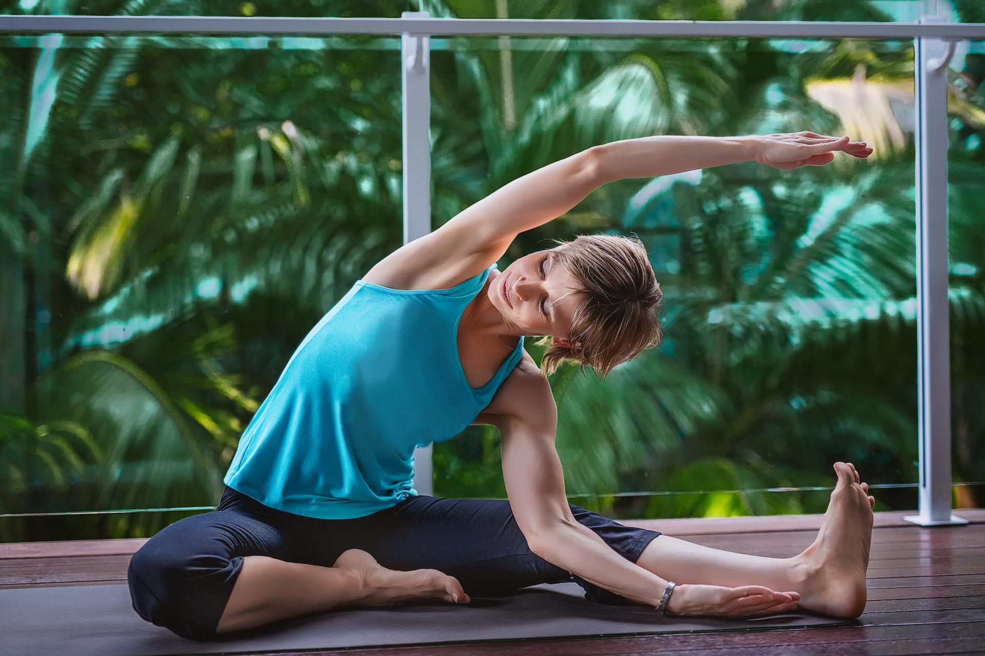 Indoor Yoga example photo