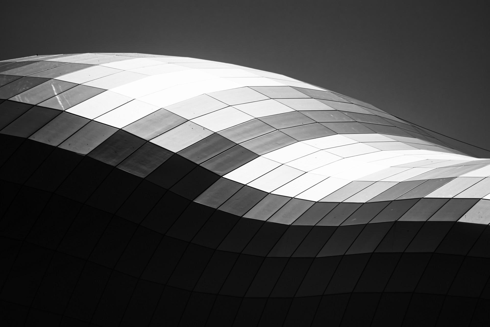 Monochrome photography example photo